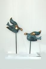 NOUNA - Sculpture-Volume - LES AILES DE LA PAIX 1/8