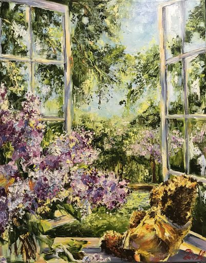 Diana MALIVANI - Gemälde - Near the Window