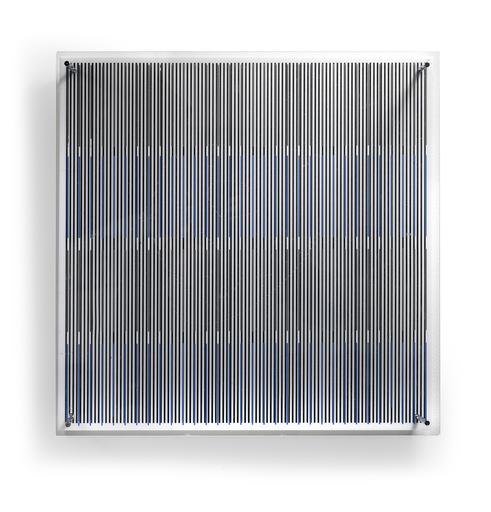 Jesús Rafael SOTO - Escultura - Tes Azules y Negras