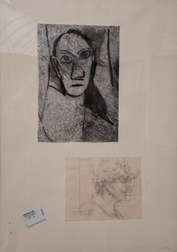 Jean LE GAC - Drawing-Watercolor - Les demoiselles d'Avignon