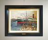 Abraham MINTCHINE - Zeichnung Aquarell - Le port, 1929