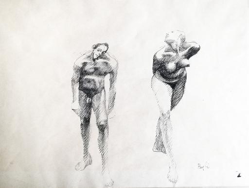 Paolo BORGHI - Dibujo Acuarela