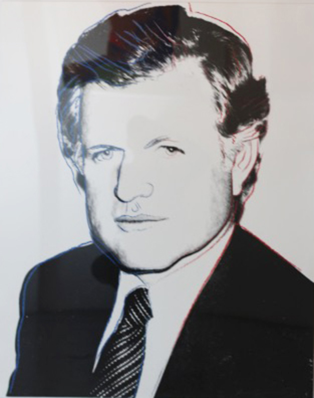 Andy WARHOL - Stampa-Multiplo - Edward Kennedy (FS II.240)