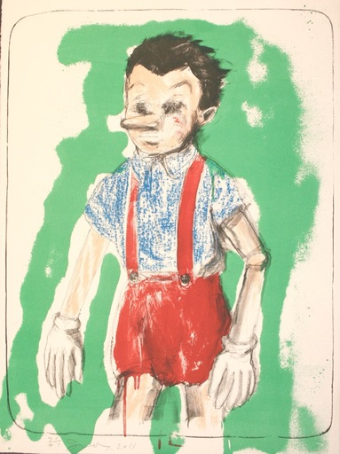 Jim DINE - Print-Multiple - Pinocchio