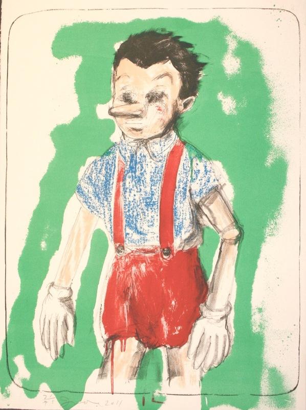 Jim DINE - Print-Multiple - Pinocchio