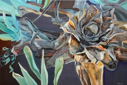 Peny MANAVI - Gemälde - Cactus 3