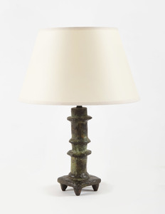 "Diego GIACOMETTI - Skulptur Volumen - Lampe ""Petit Bougeoir"""