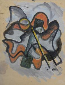 Jean VILLERI - Pittura - abstraction