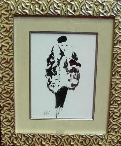 Manolo RUIZ PIPO - Peinture - Elegante II