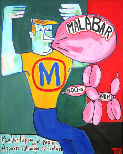 Richard BOIGEOL - Gemälde - Malabar