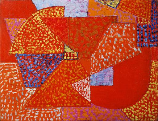 Alexandre ISTRATI - 绘画 - Composition Orange
