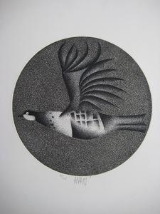 Mario AVATI - Druckgrafik-Multiple - GRAVURE 1959 SIGNÉE AU CRAYON NUM/105 HANDSIGNED NUM ETCHING