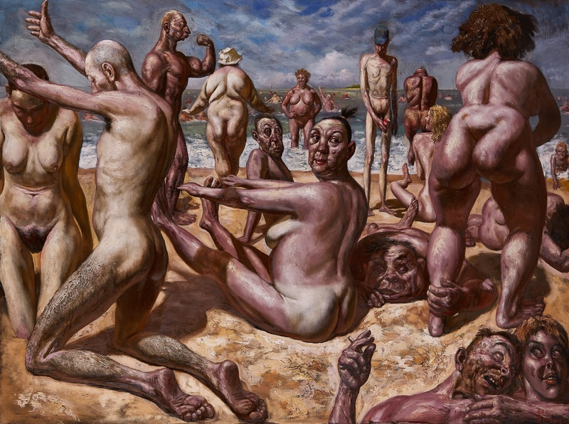 Beach russian nude Sofia Vergara