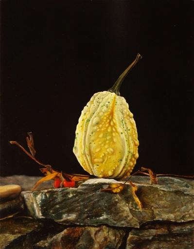 Riccardo GIRAUDO - Gemälde - Zucca su roccia