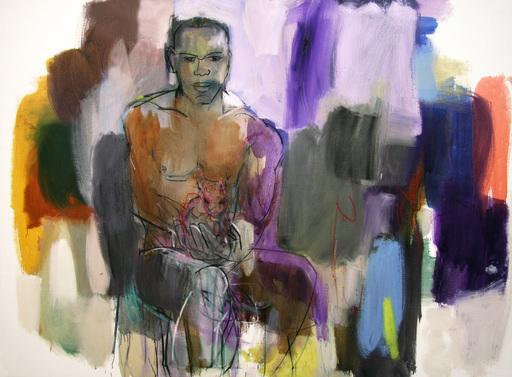 Klaus Karl MEHRKENS - Painting - Ramsis