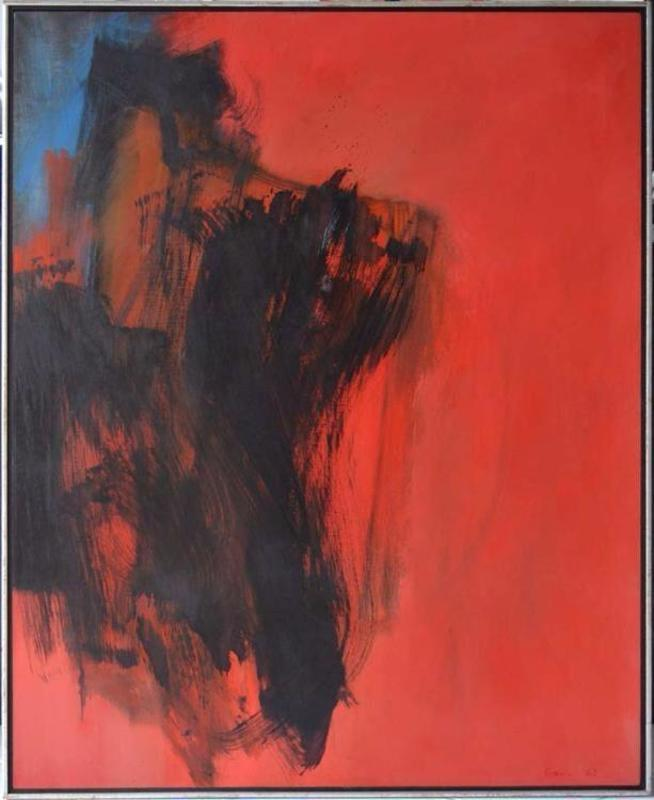 Cleve GRAY - Painting - Dark Entry