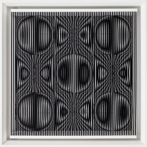 Alberto BIASI - Skulptur Volumen - Ti guarda come un matto ma sano di mente