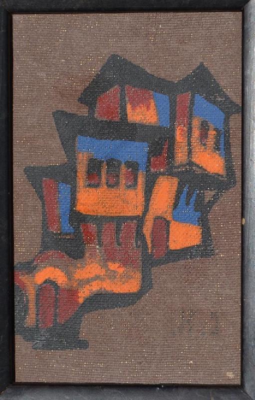 Natan Isaevich ALTMAN - Pintura - Jerusalem
