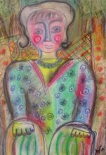 Miriam ARMAN - Gemälde - Bambola