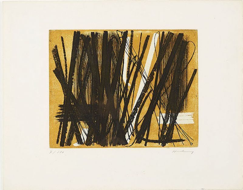 Hans HARTUNG - Druckgrafik-Multiple - G5