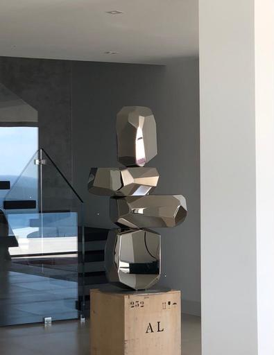 Arik LEVY - Skulptur Volumen - RockFormationTower 132