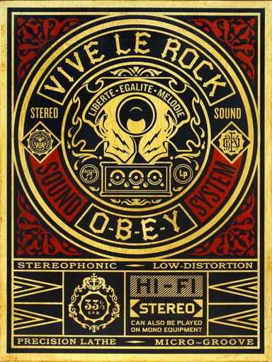 谢帕德·费瑞 - 版画 - Vive le Rock