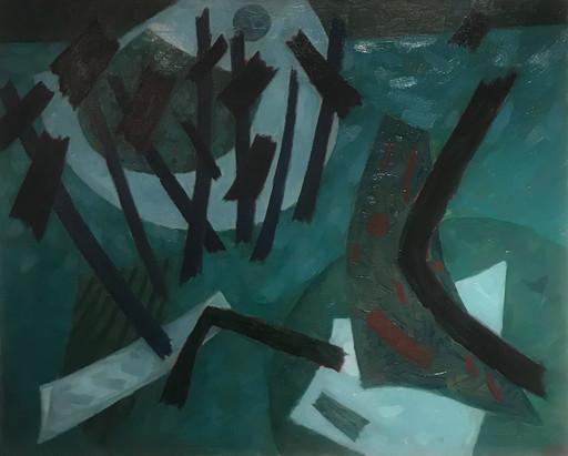 Henri GOETZ - Gemälde - Composition, 1964