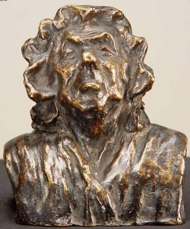 Honoré DAUMIER - Sculpture-Volume - La Portière
