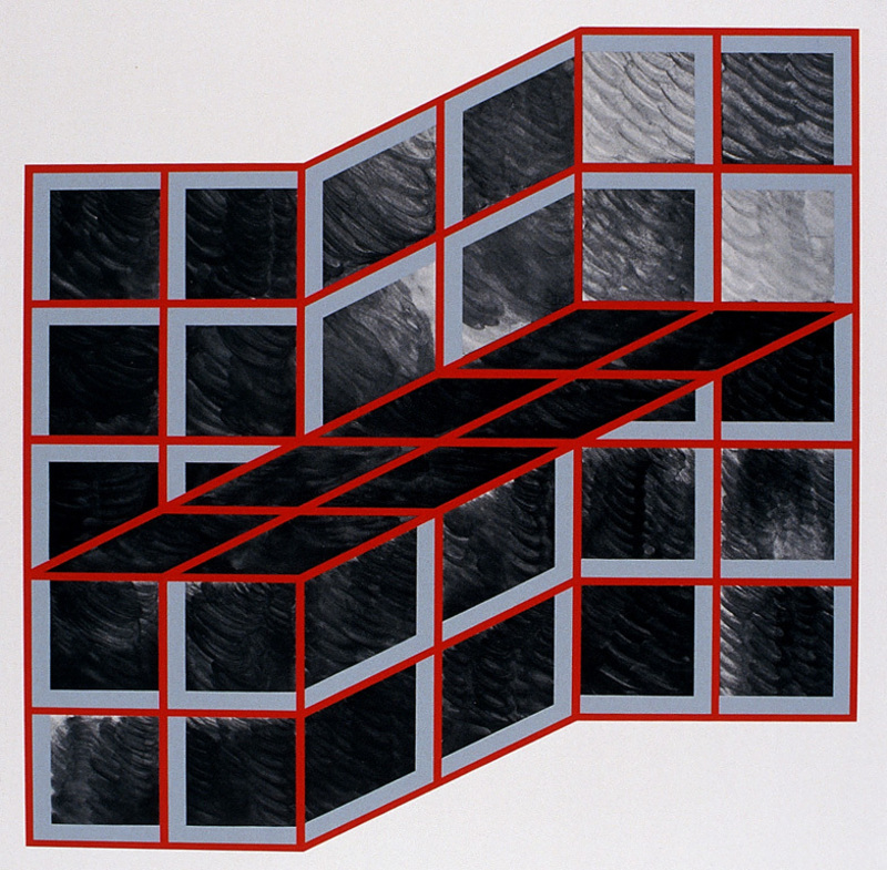 Rolf LAUTE - Print-Multiple - Ohne Titel