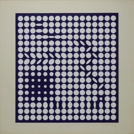 Victor VASARELY - Grabado - Composition