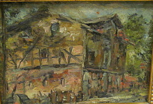 Philipp Karl SEITZ - 绘画 - Mühle in Lünzen bei Schneverdingen.