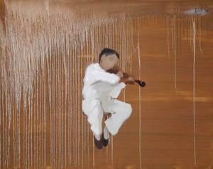 Thanh Binh NGUYEN - Painting - Violin Player