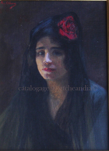 Rafael DE OCHOA Y MADRAZO - Carmen - Gitane - Andalousie