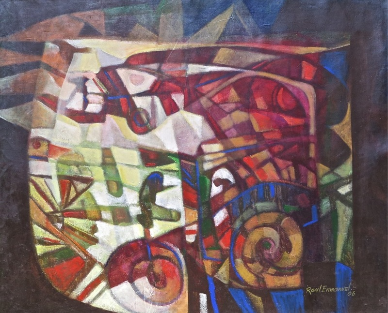 Raul Enmanuel POZO - Pintura - La Lampara