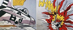 "Roy LICHTENSTEIN, ""Whaam"""