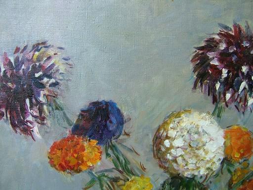 Tatyana PETROVA - Painting - Autumn Flowers