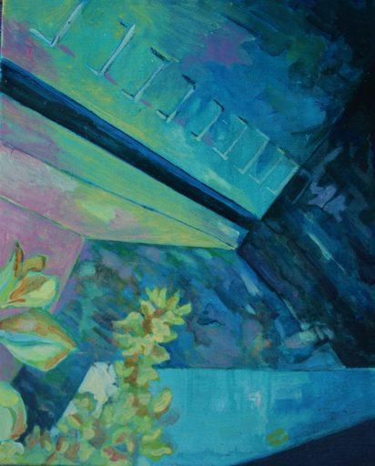 """Aude MOUILLOT - Painting - """"Focus Etang #5"""""""