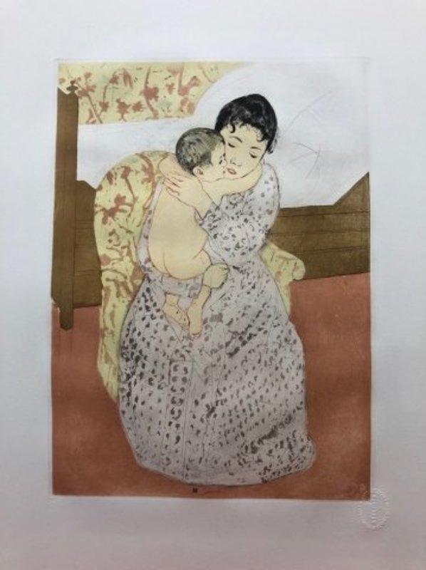 Mary CASSATT - Stampa-Multiplo - Maternité