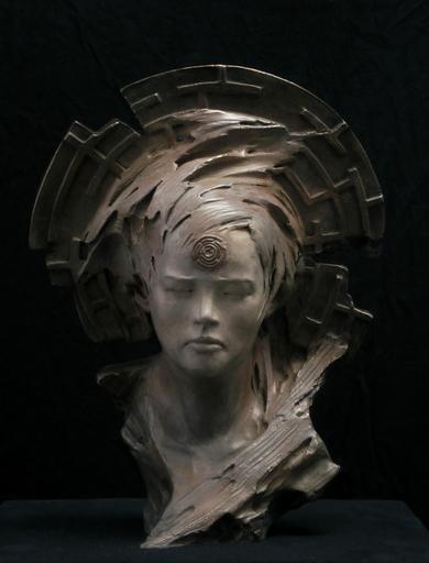 Patrick BERTHAUD - Sculpture-Volume - Mina