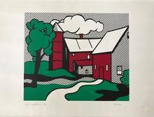 Roy LICHTENSTEIN - Stampa Multiplo - Red Barn