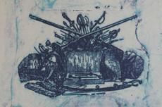 Max ERNST - Grabado - Pl.32 from 'La Ballade du Soldat'