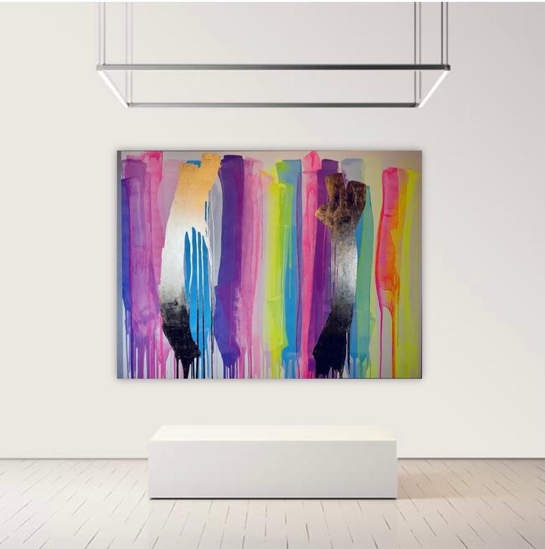 Alexandra BERNARDINI - Painting - 145x190cm, Phantom 01
