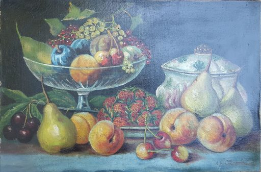 Alcide Davide CAMPESTRINI - Gemälde