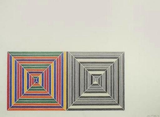 Frank STELLA - Print-Multiple - Les Indes Galantes III