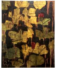 Reza DERAKSHANI - Peinture - Figue Purple