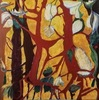 Ewa WITKOWSKA - Painting - Forest impression