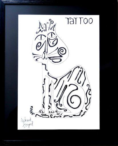 Richard BOIGEOL - Zeichnung Aquarell - TATOO