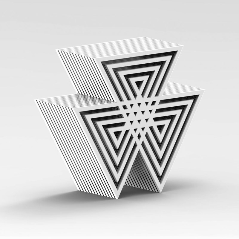 Marcello MORANDINI - Sculpture-Volume - Sculpture 687A
