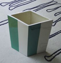 Daniel BUREN (1938) - ST (vase lozange vert)