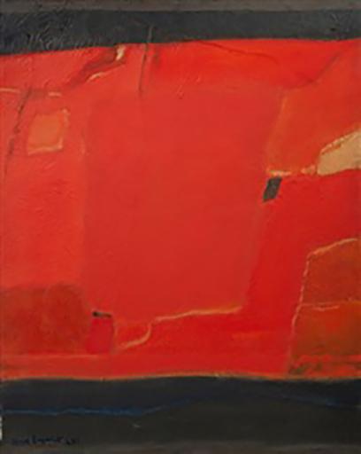 Max PAPART - Peinture - Haute Provence, 1961